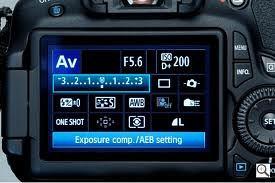 camera exposure compensation